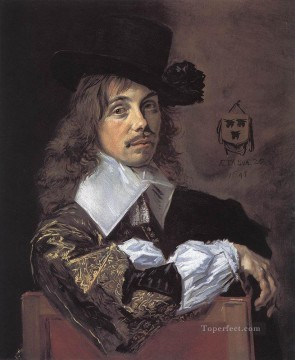 Frans Hals Painting - Willem Coenraetsz Coymans portrait Dutch Golden Age Frans Hals