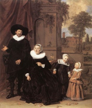 Frans Hals Painting - Family Portrait Dutch Golden Age Frans Hals