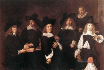 Frans Hals Painting - Regents portrait Dutch Golden Age Frans Hals