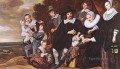 Family Group In A Landscape 1648 portrait Dutch Golden Age Frans Hals