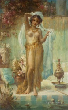 Dancing Beauty Hans Zatzka Oil Paintings