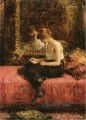 Literary Pursuits of a Young Lady girl portrait Alexei Harlamov
