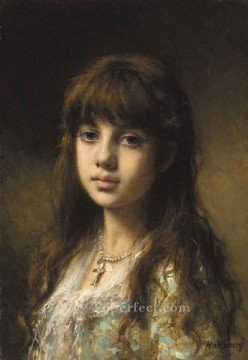 portrait - Little Girl girl portrait Alexei Harlamov