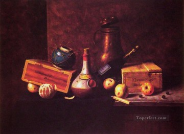 William Harnett Painting - Still Life 1884 Irish painter William Harnett