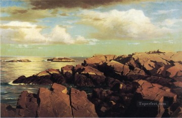 After a Shower Nahant Massachusetts scenery Luminism William Stanley Haseltine Oil Paintings