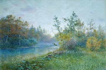 Mill Dam In Traunstein scenery Luminism William Stanley Haseltine Oil Paintings