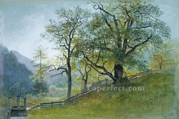 Vahm In Tyrol Near Brixen scenery Luminism William Stanley Haseltine Oil Paintings