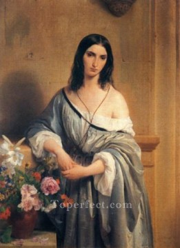 Francesco Canvas - Malinconia Romanticism Francesco Hayez