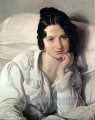 Portrait of Carolina Zucchi Romanticism Francesco Hayez
