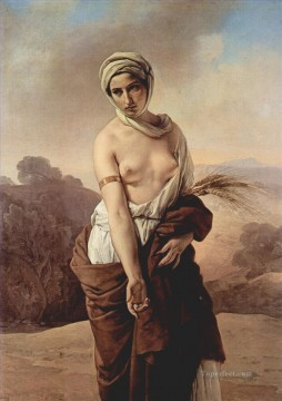 Ruth 1835 Francesco Hayez Oil Paintings