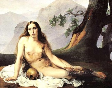 The Penitent Magdalene Francesco Hayez Oil Paintings