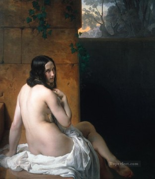 Bag Painting - susanna al bagno Francesco Hayez
