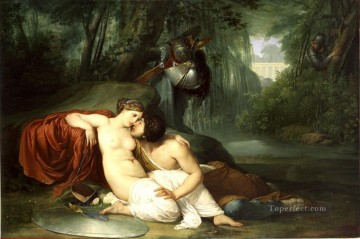 Rinaldo And Armida Francesco Hayez Oil Paintings