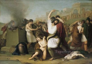 Laocoon Romanticism Francesco Hayez Oil Paintings