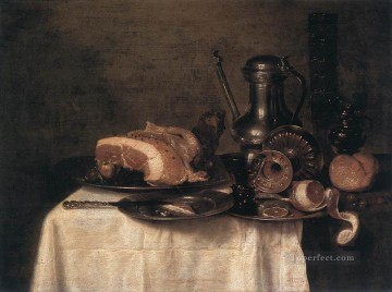 Still Life 1649 Willem Claeszoon Heda Oil Paintings