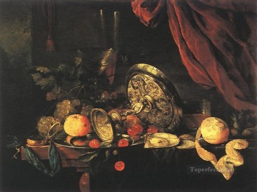 Still Life 1 Dutch Baroque Jan Davidsz de Heem Oil Paintings