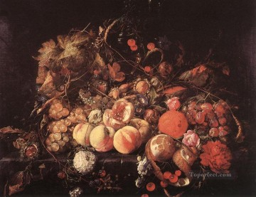 Still Life Dutch Baroque Jan Davidsz de Heem Oil Paintings