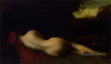 Nude Jean Jacques Henner Oil Paintings