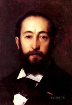 Portrait DHomme Jean Jacques Henner Oil Paintings