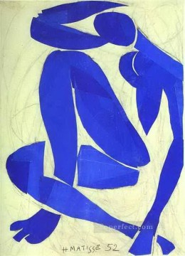 Henri Matisse Painting - Blue Nude IV abstract fauvism Henri Matisse