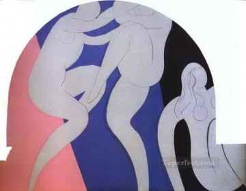 Henri Matisse Painting - The Dance 19322 abstract fauvism Henri Matisse