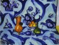 Blue TableCloth abstract fauvism Henri Matisse