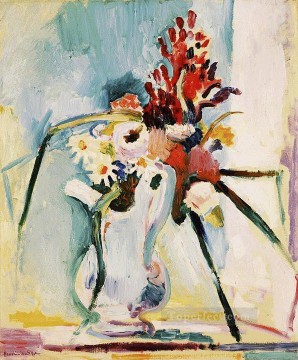 fauvism - Flowers in a Pitcher abstract fauvism Henri Matisse