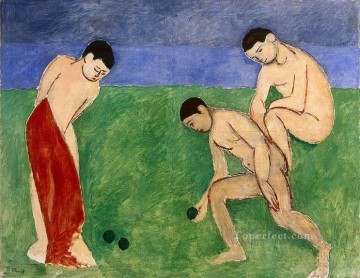 Henri Matisse Painting - A Game of Bowls abstract fauvism Henri Matisse