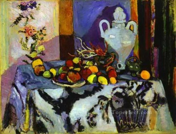 Henri Matisse Painting - Blue Still Life 1907 abstract fauvism Henri Matisse