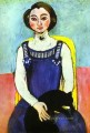 Girl with A Black Cat abstract fauvism Henri Matisse