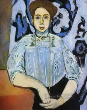 fauvism works - Greta Moll abstract fauvism Henri Matisse
