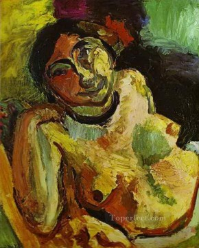 fauvism works - Gypsy 1906 abstract fauvism Henri Matisse