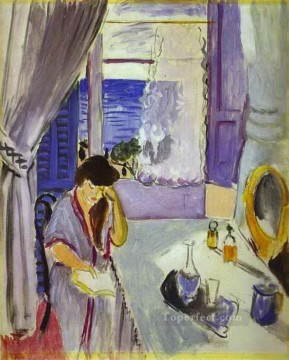 fauvism works - Interior Nice 1919 abstract fauvism Henri Matisse