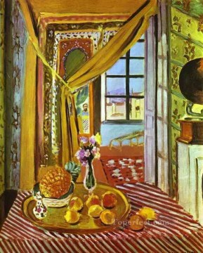 Henri Matisse Painting - Interior with Phonograph abstract fauvism Henri Matisse