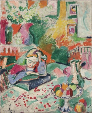 Henri Matisse Painting - Interior with a Girl 1905 abstract fauvism Henri Matisse