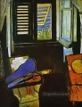 Interior with a Violin abstract fauvism Henri Matisse