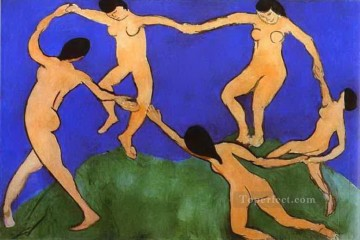 fauvism - La Danse Dance first version abstract fauvism Henri Matisse