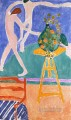 La Danse Dance with Nasturtiums abstract fauvism Henri Matisse