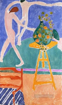 Henri Matisse Painting - La Danse Dance with Nasturtiums abstract fauvism Henri Matisse