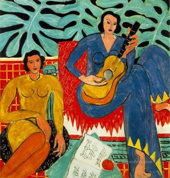 fauvism - La Musique music 1939 abstract fauvism Henri Matisse