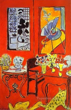 Henri Matisse Painting - Large Red Interior abstract fauvism Henri Matisse