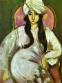 Laurette in a White Turban 1916 abstract fauvism Henri Matisse