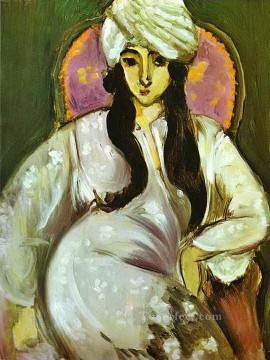 Henri Matisse Painting - Laurette in a White Turban 1916 abstract fauvism Henri Matisse
