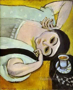 Henri Matisse Painting - Laurette s Head with a Coffee Cup abstract fauvism Henri Matisse