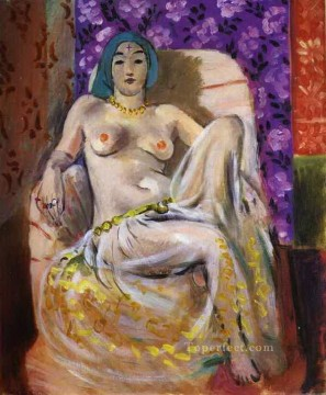 Henri Matisse Painting - Le genou leve nude 1922 abstract fauvism Henri Matisse