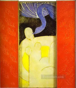 Henri Matisse Painting - Leda and the Swan abstract fauvism Henri Matisse