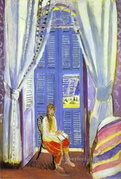 Henri Matisse Painting - Les persiennes 1919 abstract fauvism Henri Matisse