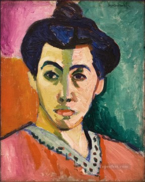 Henri Matisse Painting - Madame Matisse The Green Line La Raie verte 1905 abstract fauvism Henri Matisse