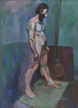 fauvism - Male Model abstract fauvism Henri Matisse