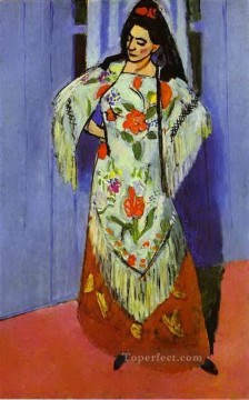 fauvism - Manila Shawl 1911 abstract fauvism Henri Matisse